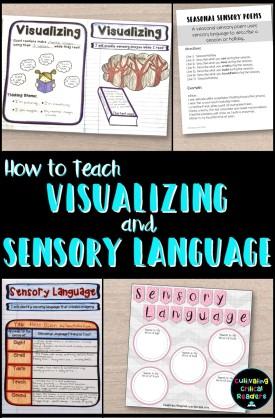 How to Teach Visualizing and Sensory Language