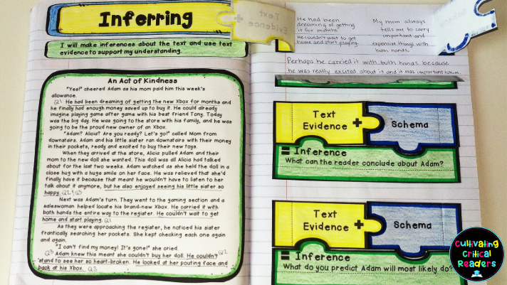inferring pages