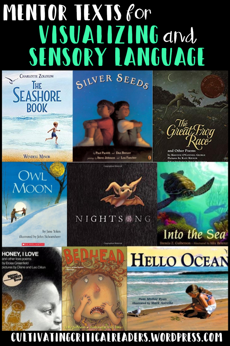 Mentor Texts for Visualizing and Sensory Language