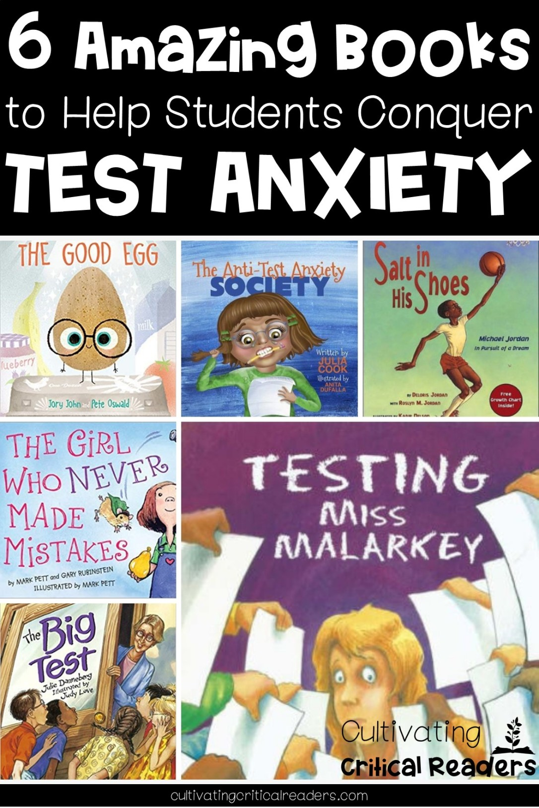 6 Amazing Test Prep Books