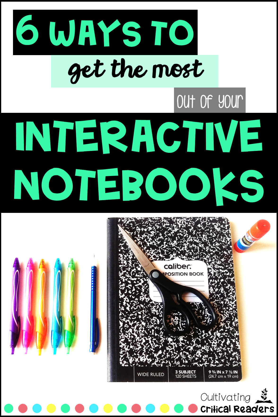 Interactive Reading Notebook Blog Pin