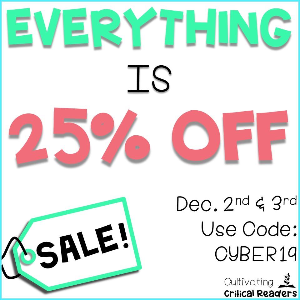 TPT Cyber Monday Sale 19